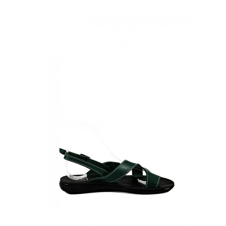 Босоножки женские TiBet 76 зеленые