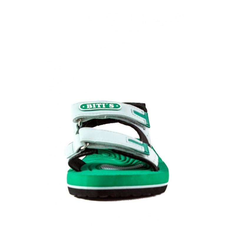 Босоножки детские Bitis 20950-S зеленые