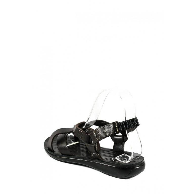 Сандалии женские TiBet 275-03-02 темно-коричневые
