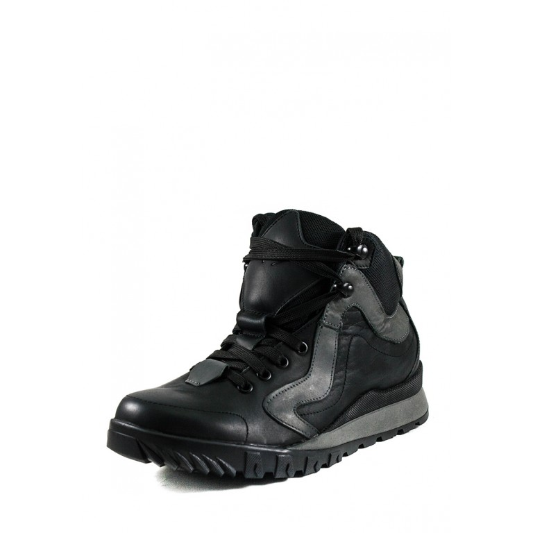 Ботинки зимние мужские MIDA 14173-3Н черные