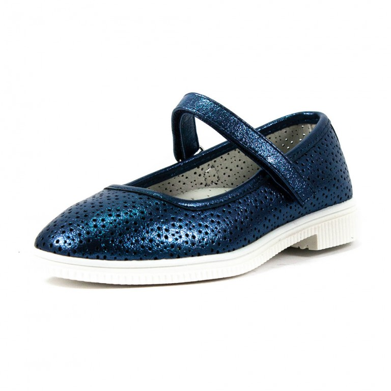 Туфли для девочек R522034202 синий, пар