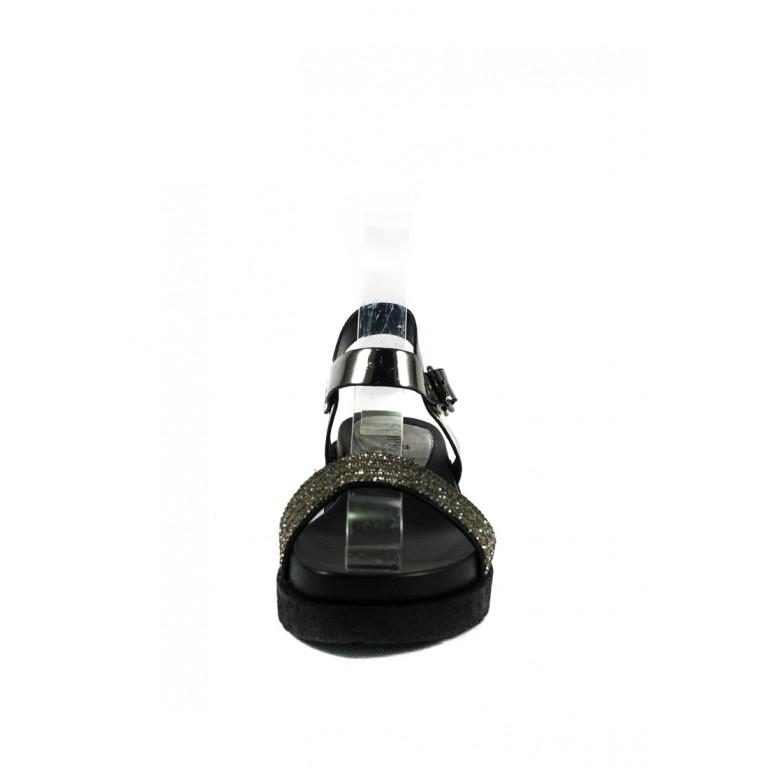 Босоножки женские Sopra СФ JK61165-A2 металлик