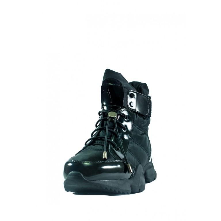 Ботинки зимние женские Lonza СФ 1552-N692 черные