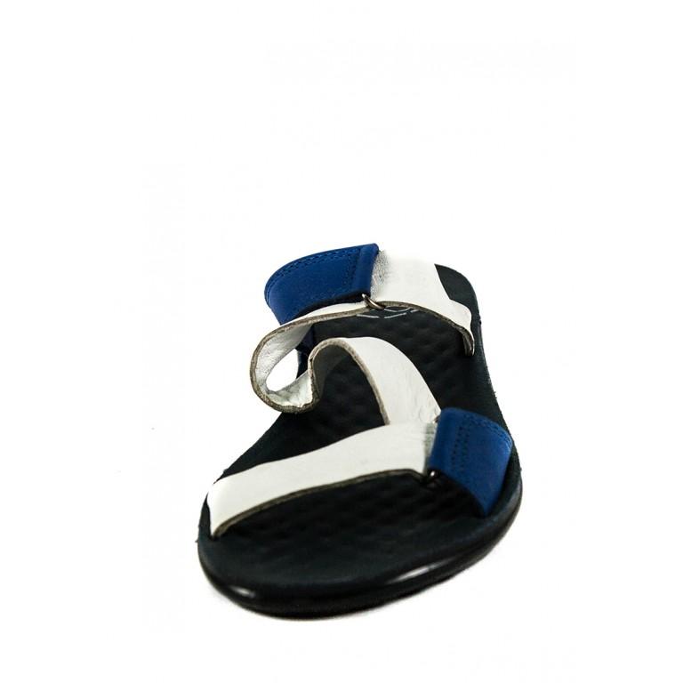 Шлепанцы женские TiBet 240 бело-синие