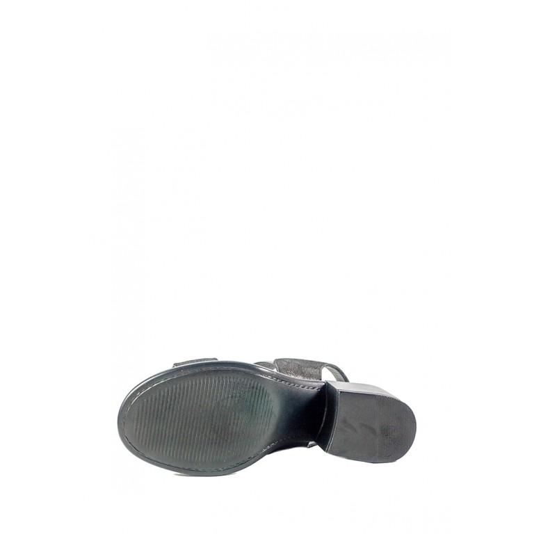 Босоножки женские Lonza СФ L-76153-1911-6 KM черные