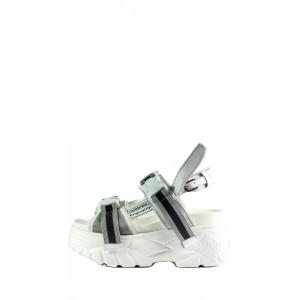 Сандалии женские Loris Bottega WG-2067 белые