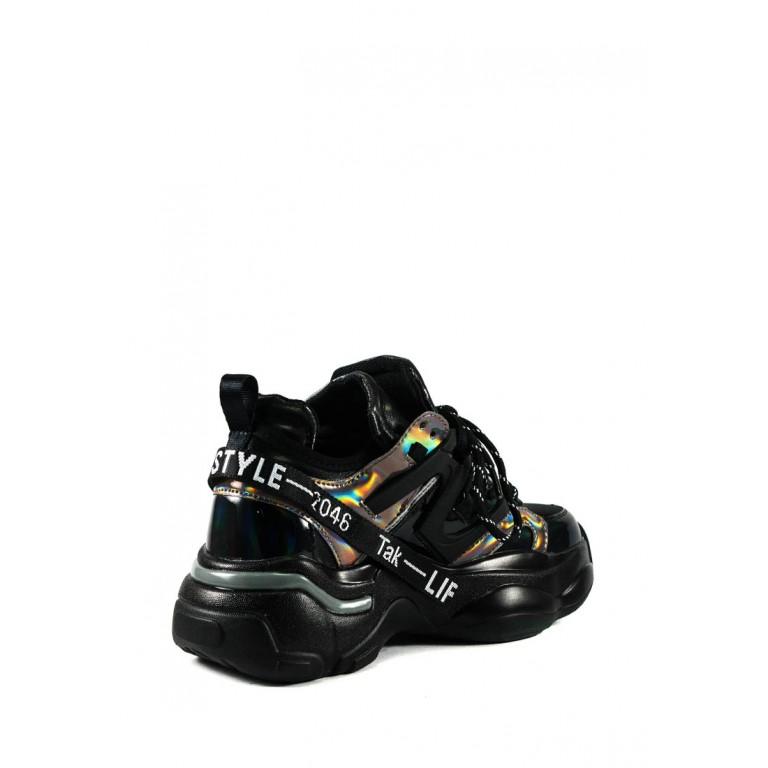 Кроссовки демисезон женские Allshoes 188-18058 черные