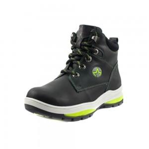 Ботинки детские MIDA 32018-3 черная кожа