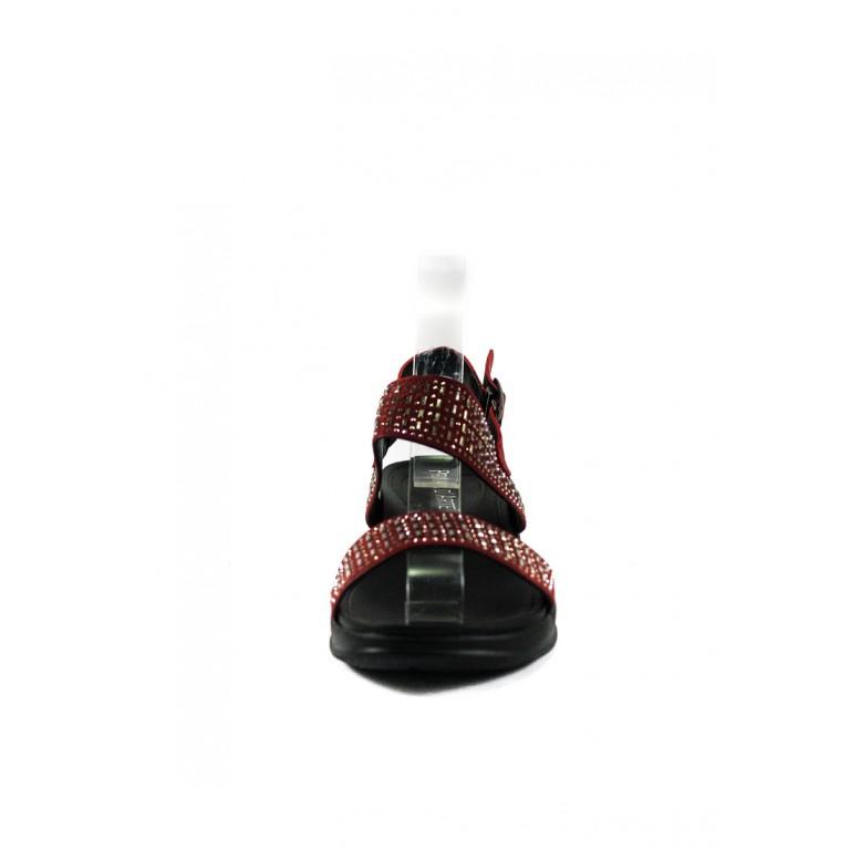 Сандалии женские Prima D'arte СФ HR-13AW899-6 красные