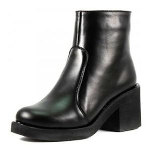 Ботинки демисезон женские SND SDAZ-525 черная кожа