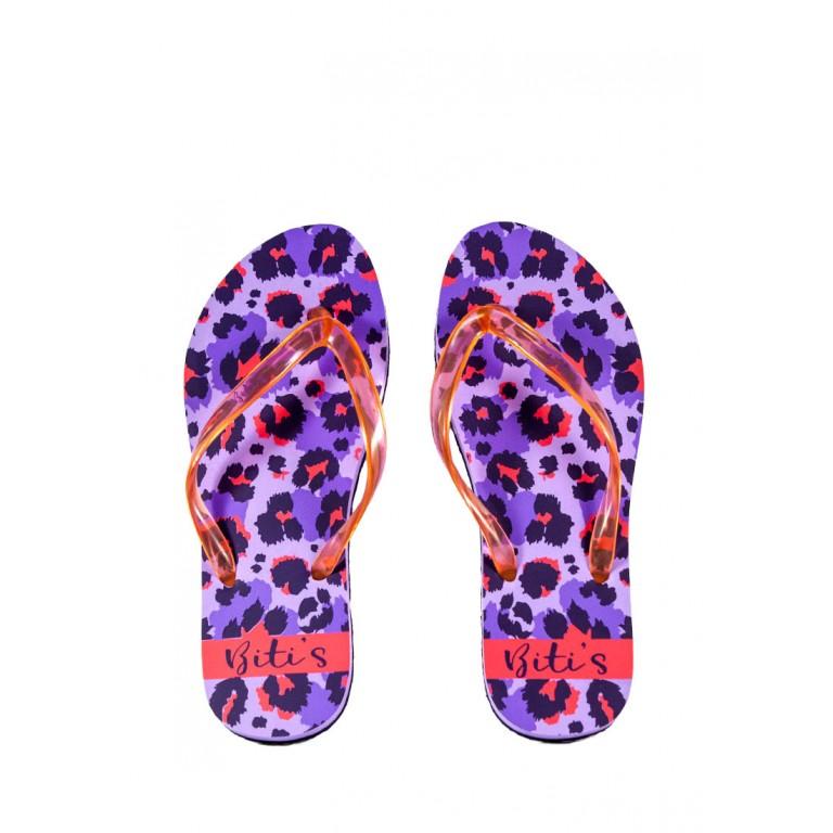 Шлепанцы женские Bitis 20912-Е фиолетовые