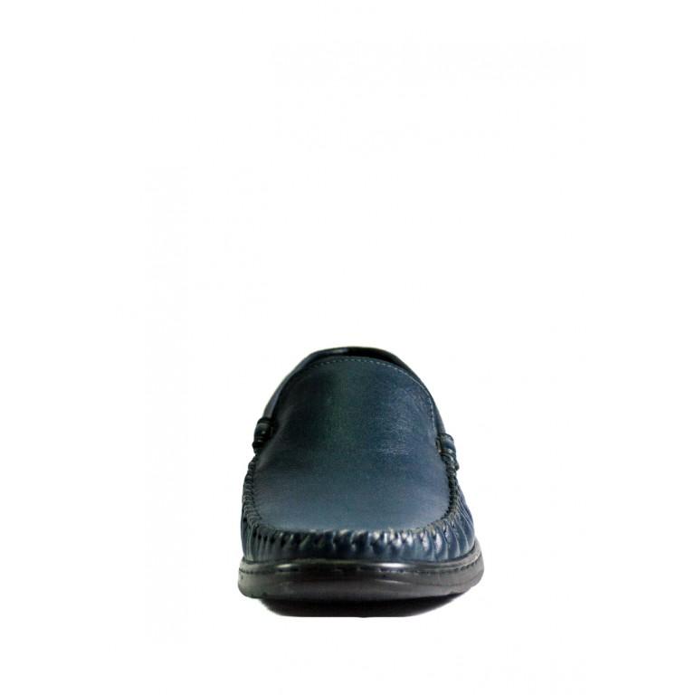 Мокасины мужские MIDA 110518-29 синие