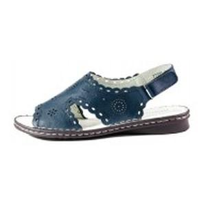 [:ru]Босоножки женские Allshoes 77937-10 тёмно-синий[:uk]Босоніжки жіночі літні Allshoes синій 11866[:]
