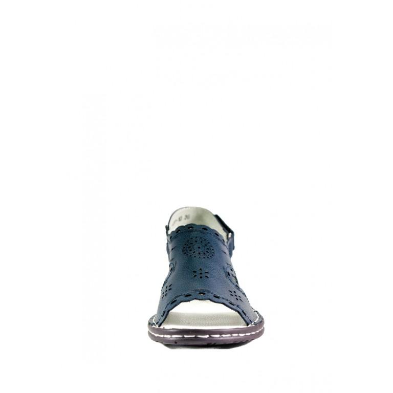 Босоніжки жіночі літні Allshoes синій 11866