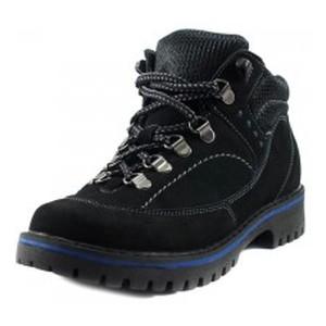 Ботинки демисезон женские MIDA 32008-9 черный нубук