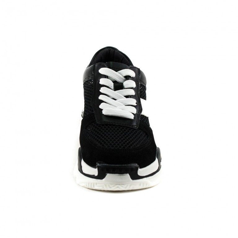 Кроссовки женские Keddo 897221-05-01 черно-белый