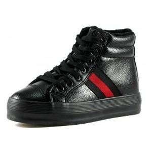 Ботинки зимние женские Prima D'arte YD010 черный