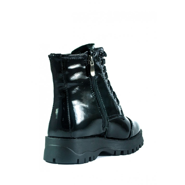 Ботинки зимние женские Lonza СФ X1327-2A черные