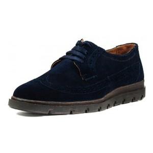 Туфли мужские MIDA 110534-250 темно-синяя замша