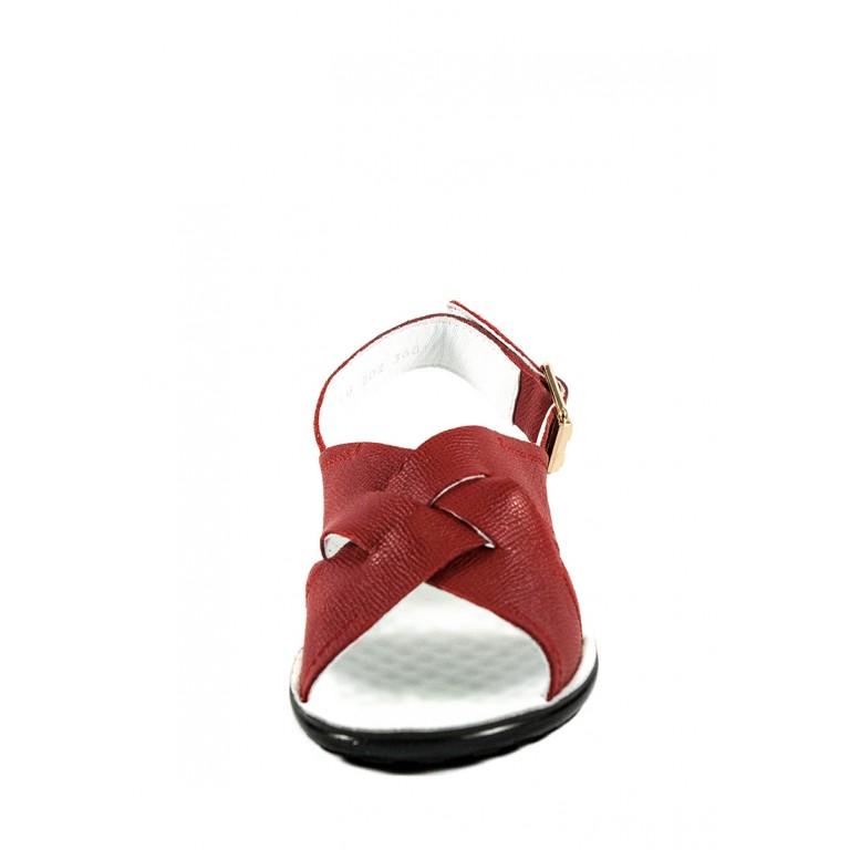 Босоножки женские TiBet 202-02-5611красные