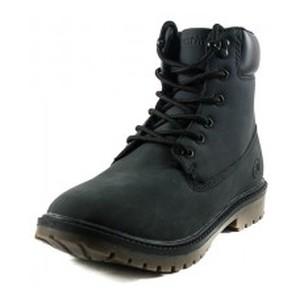 Ботинки зимние женские Restime KWZ19104 черные