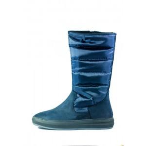 Сапоги подростковые MIDA 34121-625Ш синие