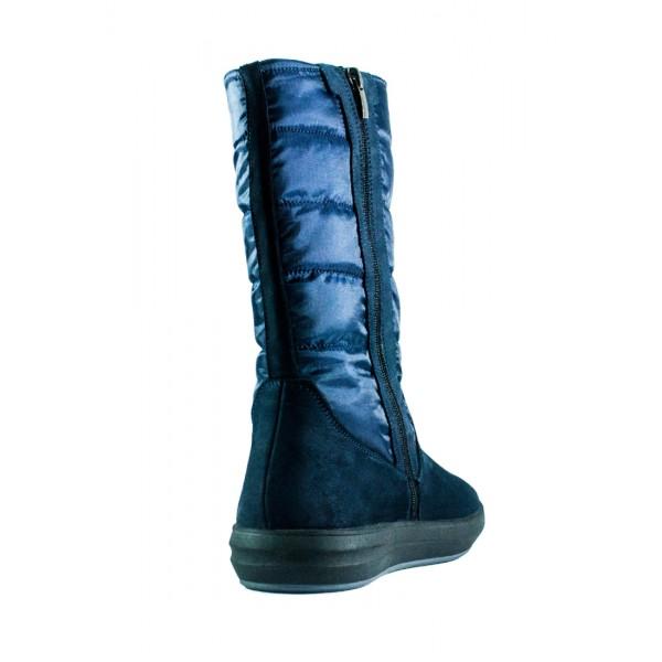 Сапоги зимние женские MIDA 34121-625Ш синие