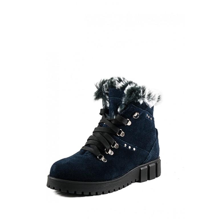 Ботинки зимние женские MIDA 24765-250Н синие