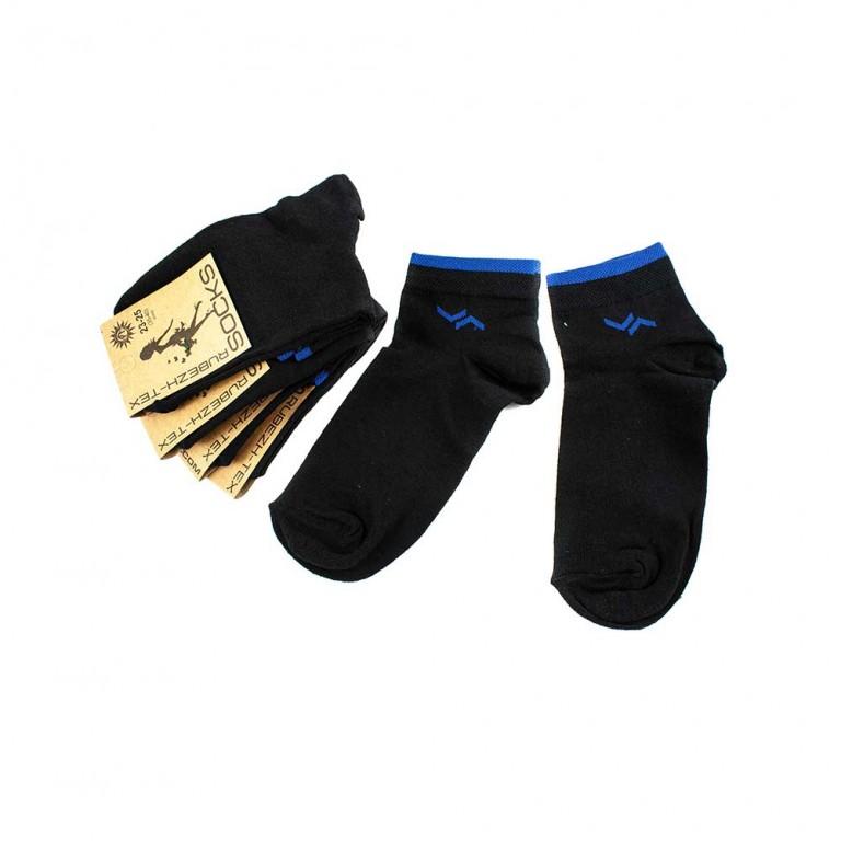 Носки женские Рубеж-Текс 2c101k черно-синий 35-40