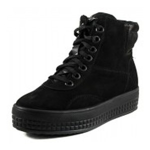 Ботинки зимние женские MIDA 24596-9Ш черные