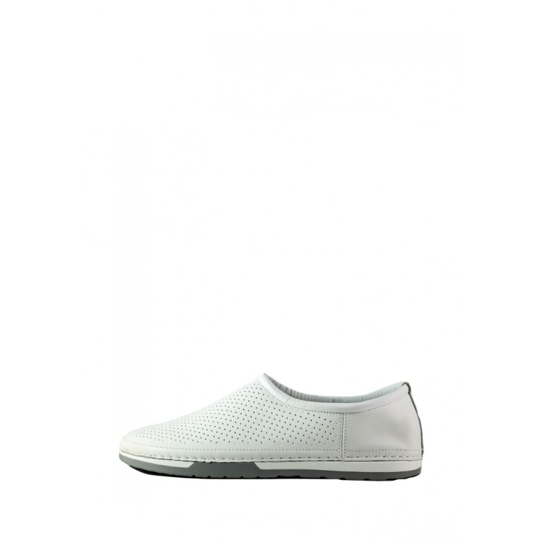 Мокасины женские Allshoes СФ 1979-3K белые