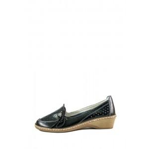 Туфли женские Allshoes 77299 черная кожа
