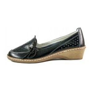 [:ru]Туфли женские Allshoes 77299 черная кожа[:uk]Туфлі жіночі Allshoes чорний 15595[:]
