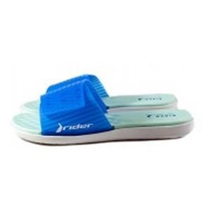 Шлепанцы женские Rider 82740-23898 сине-голубые