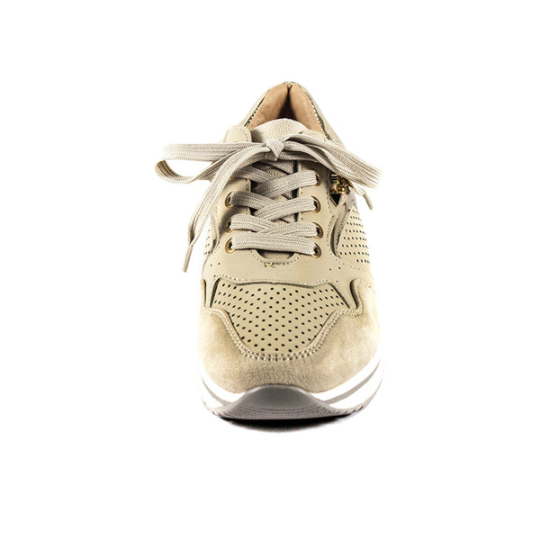 Кроссовки женские Sopra 1087-D3 бежевые