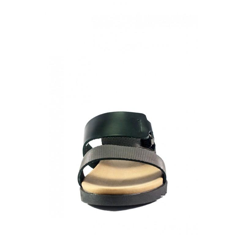 Шлепанцы женские MIDA 23713-539 темно-коричневые