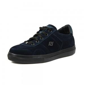 Кеды подростковые MIDA 31190-12 синий нубук