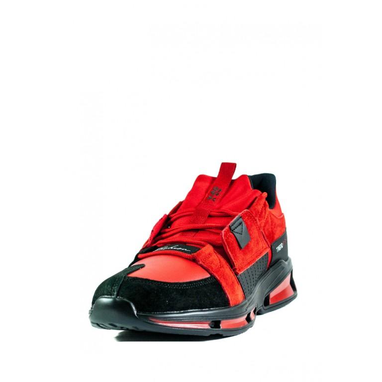 Кроссовки мужские BAAS M962-8 красно-черные