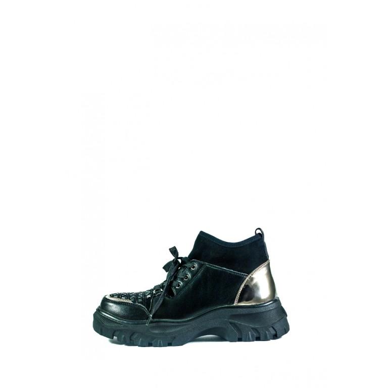 Ботинки демисезон женские Allshoes СФ CHJ-K166-B530-4 черные