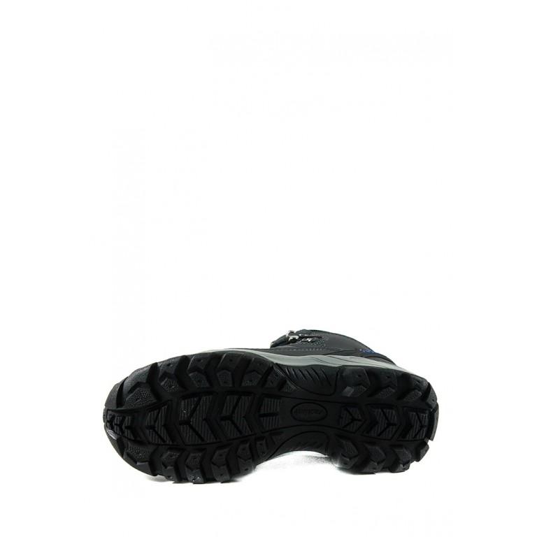 Ботинки зимние женские Restime PWZ19830 серые