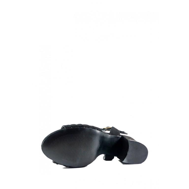 Босоножки женские летние Sopra СФ 1247-A7 черные