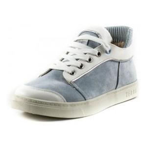 Кеды женские Keddo 897300-32-03 бело-голубые