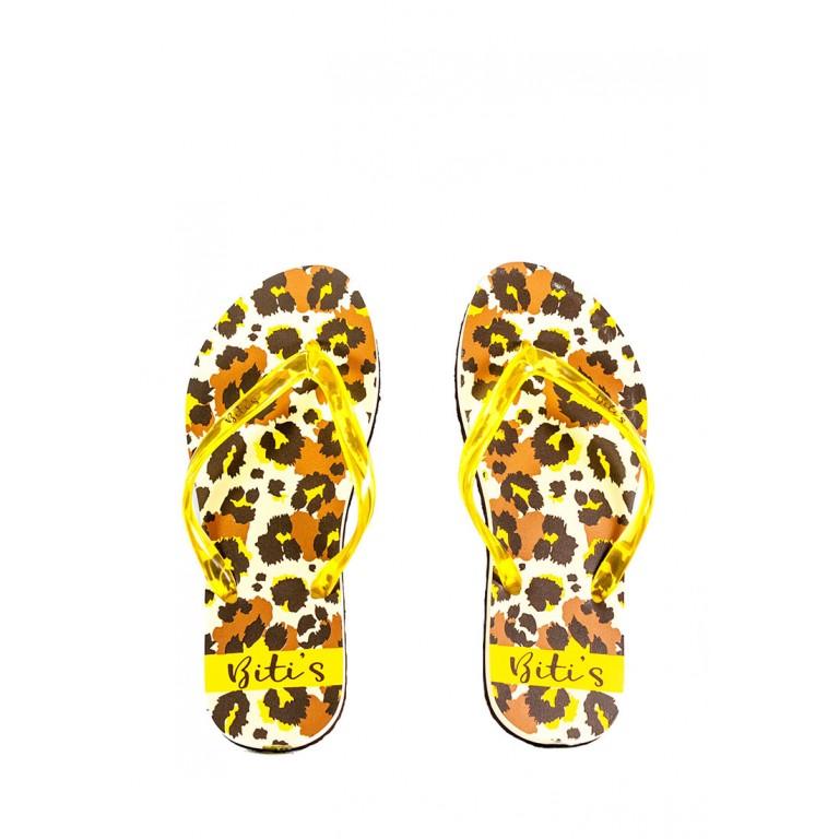 Шлепанцы женские Bitis 20912-Е леопардовые