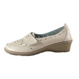[:ru]Туфли женские Allshoes 77308 бежевая кожа[:uk]Туфлі жіночі Allshoes бежевий 15598[:]