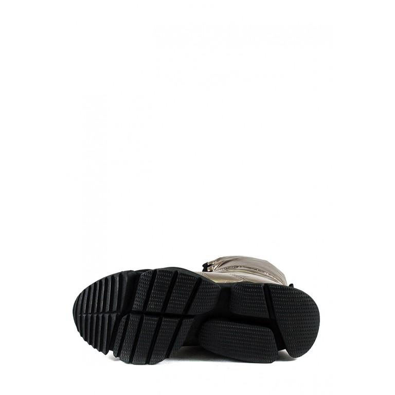 Ботинки зимние женские Prima D'arte 1552-F660-3 металлик