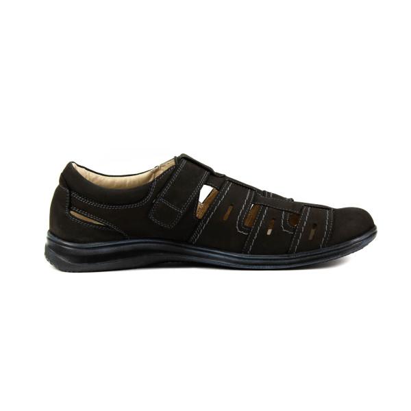 Сандалии мужские MIDA 13977-13 темно-коричневые