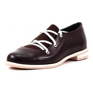 Туфли женские Vakardi V104 бордовая кожа