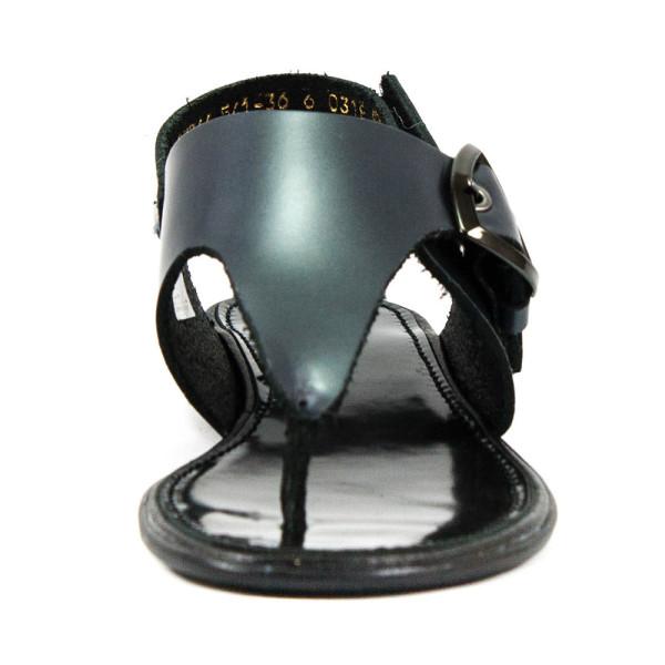 Босоножки женские MIDA 23764-541 темно-серая кожа