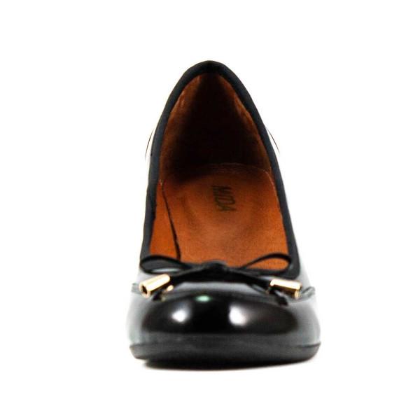 Туфли женские MIDA 21587-134 черный лак