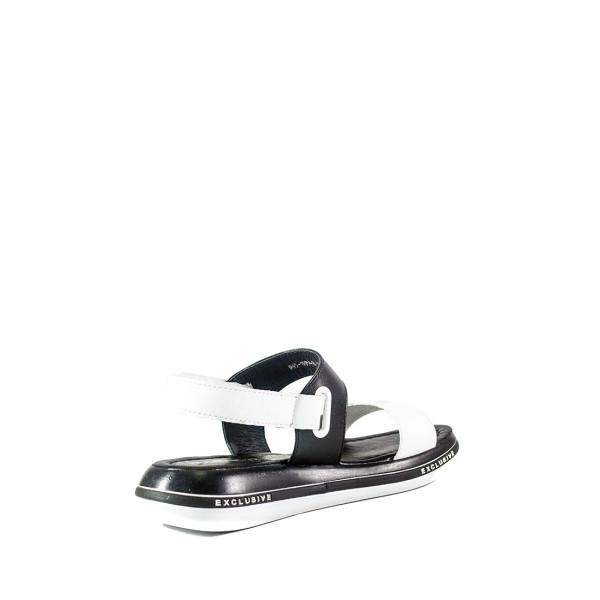 Босоножки женские Number 22 СФ L-065-1999-8 L черно-белые